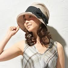 紫外線カット 帽子