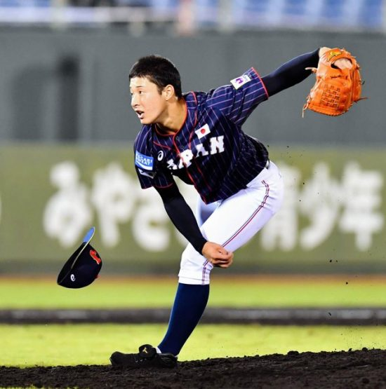 U18日本吉田選手